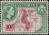 Stamp Nyasaland Catalog number: 112