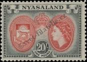 Stamp Nyasaland Catalog number: 113
