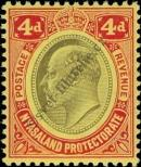 Stamp Nyasaland Catalog number: 4
