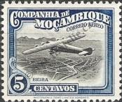 Stamp Mozambique Company Catalog number: 186