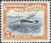 Stamp Mozambique Company Catalog number: 198