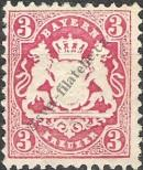 Stamp Bavaria Catalog number: 33