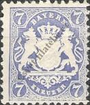 Stamp Bavaria Catalog number: 34