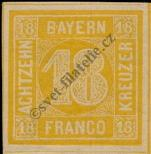 Stamp Bavaria Catalog number: 7