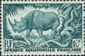 Stamp French Equatorial Africa Catalog number: 262