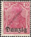 Stamp Free City of Danzig Catalog number: 2