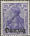 Stamp Free City of Danzig Catalog number: 4