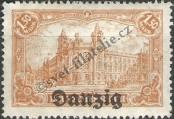 Stamp Free City of Danzig Catalog number: 10