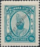 Stamp Bijawar Catalog number: 9