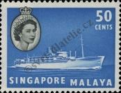 Stamp Singapore Catalog number: 39
