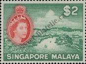 Stamp Singapore Catalog number: 41