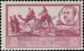 Stamp Spanish West Africa Catalog number: 10