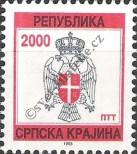 Stamp Republic of Serbian Krajina Catalog number: 5
