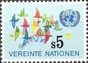 Stamp United Nations (Wien) Catalog number: 4