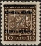 Stamp Protectorate of Bohemia and Moravia Catalog number: 2