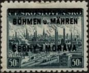 Stamp Protectorate of Bohemia and Moravia Catalog number: 7