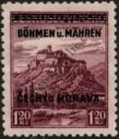 Stamp Protectorate of Bohemia and Moravia Catalog number: 11