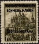 Stamp Protectorate of Bohemia and Moravia Catalog number: 13