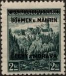Stamp Protectorate of Bohemia and Moravia Catalog number: 14