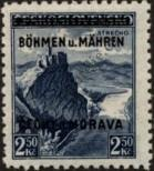 Stamp Protectorate of Bohemia and Moravia Catalog number: 15