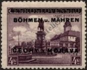 Stamp Protectorate of Bohemia and Moravia Catalog number: 17