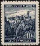Stamp Protectorate of Bohemia and Moravia Catalog number: 25