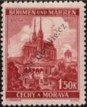 Stamp Protectorate of Bohemia and Moravia Catalog number: 30