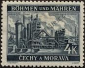Stamp Protectorate of Bohemia and Moravia Catalog number: 34