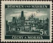 Stamp Protectorate of Bohemia and Moravia Catalog number: 35