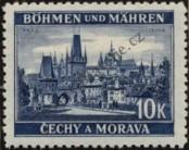 Stamp Protectorate of Bohemia and Moravia Catalog number: 36