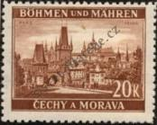 Stamp Protectorate of Bohemia and Moravia Catalog number: 37
