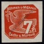 Stamp Protectorate of Bohemia and Moravia Catalog number: 44