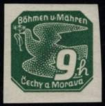 Stamp Protectorate of Bohemia and Moravia Catalog number: 45