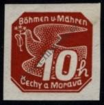 Stamp Protectorate of Bohemia and Moravia Catalog number: 46