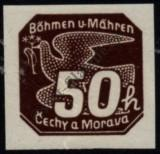 Stamp Protectorate of Bohemia and Moravia Catalog number: 49