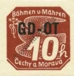 Stamp Protectorate of Bohemia and Moravia Catalog number: 51