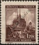 Stamp Protectorate of Bohemia and Moravia Catalog number: 41