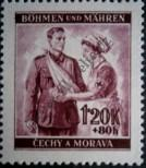 Stamp Protectorate of Bohemia and Moravia Catalog number: 54