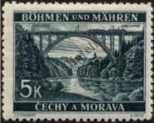 Stamp Protectorate of Bohemia and Moravia Catalog number: 57