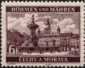 Stamp Protectorate of Bohemia and Moravia Catalog number: 58