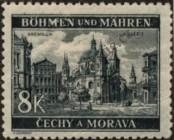 Stamp Protectorate of Bohemia and Moravia Catalog number: 59