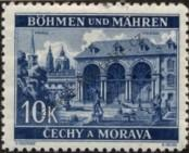 Stamp Protectorate of Bohemia and Moravia Catalog number: 60