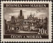 Stamp Protectorate of Bohemia and Moravia Catalog number: 61