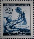 Stamp Protectorate of Bohemia and Moravia Catalog number: 62