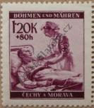 Stamp Protectorate of Bohemia and Moravia Catalog number: 63