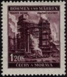 Stamp Protectorate of Bohemia and Moravia Catalog number: 77
