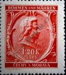 Stamp Protectorate of Bohemia and Moravia Catalog number: 81