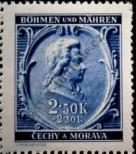 Stamp Protectorate of Bohemia and Moravia Catalog number: 82