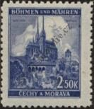 Stamp Protectorate of Bohemia and Moravia Catalog number: 71
