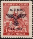 Stamp Protectorate of Bohemia and Moravia Catalog number: 83